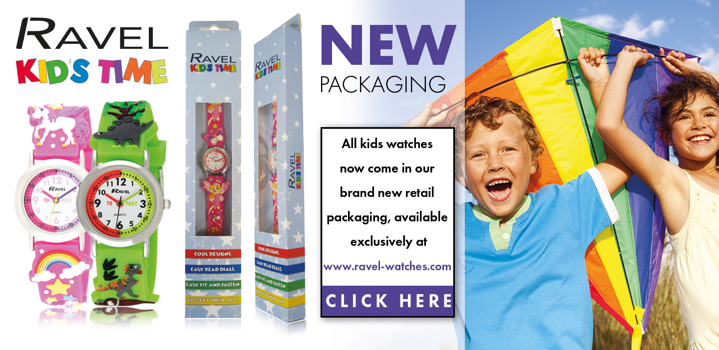 RAVEL NEW KIDS PACKAGING BANNER